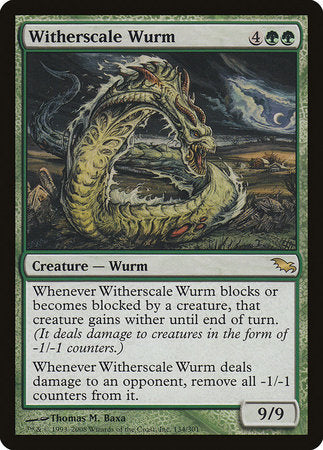 Witherscale Wurm [Shadowmoor] | Space Cadets Gaming Gaming
