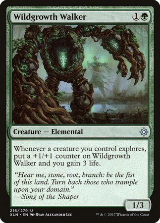 Wildgrowth Walker [Ixalan] | Space Cadets Gaming Gaming