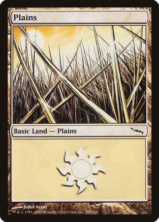 Plains (290) [Mirrodin] | Space Cadets Gaming Gaming