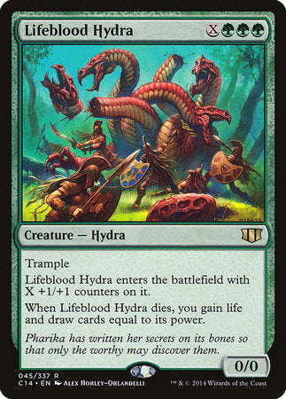 Lifeblood Hydra [Commander 2014] | Space Cadets Gaming Gaming