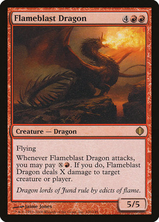 Flameblast Dragon [Shards of Alara] | Space Cadets Gaming Gaming