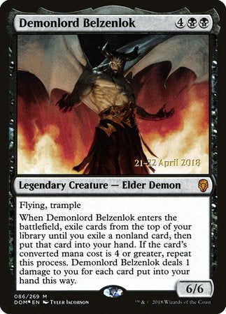 Demonlord Belzenlok [Dominaria Promos] | Space Cadets Gaming Gaming