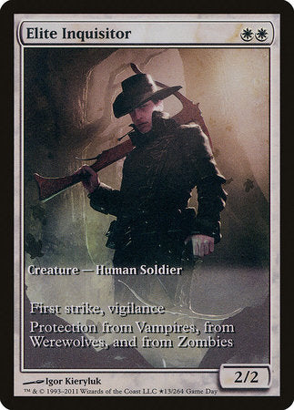Elite Inquisitor [Innistrad Promos] | Space Cadets Gaming Gaming