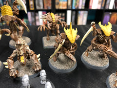 Painted Tyranid Army - with foam transport cases | Space Cadets Gaming Gaming