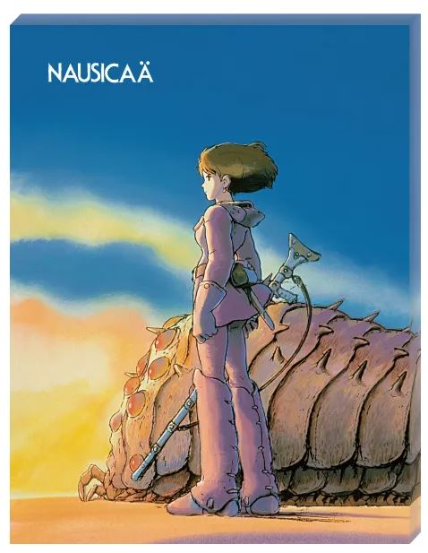 "Ohmu and Nausicaa ""Nausicaa of the Valley of the Wind"", Ensky Artboard Jigsaw 