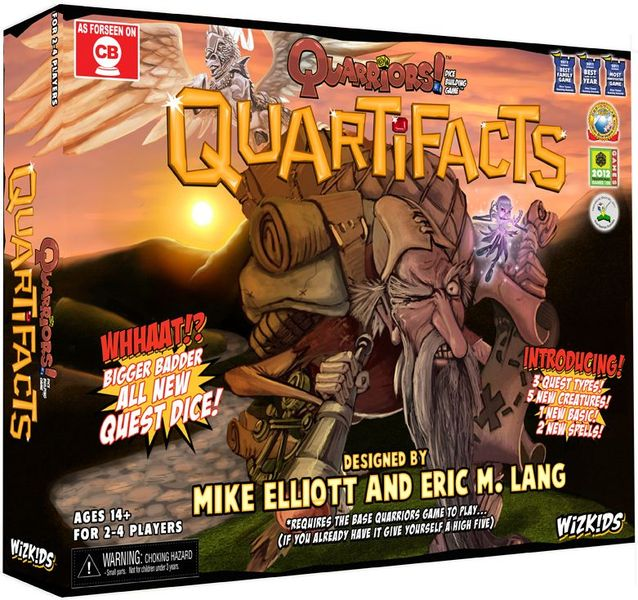 Quarriors! Quartifacts | Space Cadets Gaming Gaming