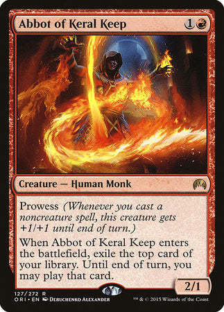 Abbot of Keral Keep [Magic Origins] | Space Cadets Gaming Gaming