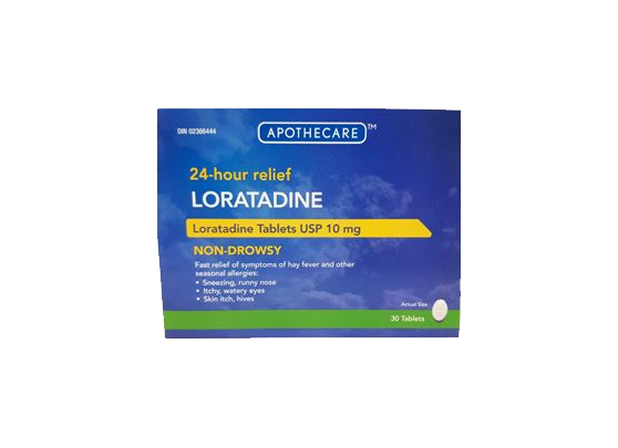 Apothecare - Loratadine Allergy Tablets