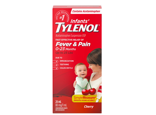 Tylenol Baby Fever and Pain Cherry Flavor