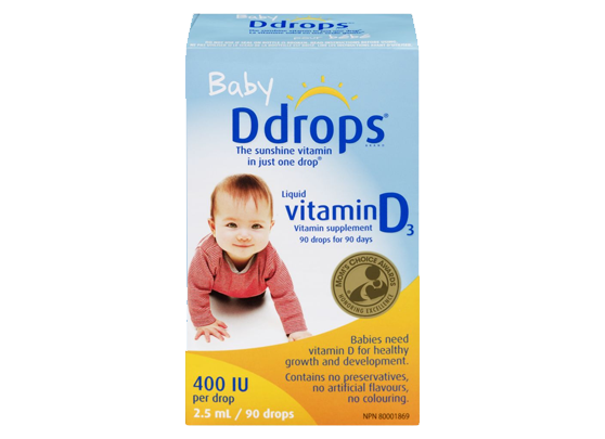 Baby Vitamin D Liquid 400 IU Easy Drop