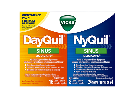 DayQuil NyQuil Combo - Sinus