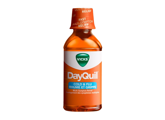Vicks DayQuil Cold and Flu Relief Non-Drowsy Liquid