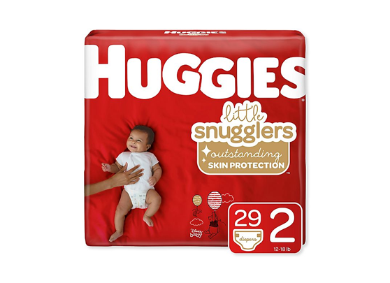 Huggies Little Snugglers Diapers (Multiple Sizes Available)