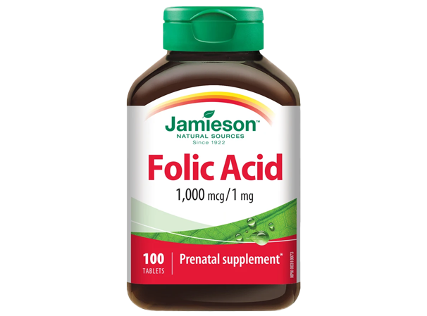 Jamieson Folic Acid 1 mg