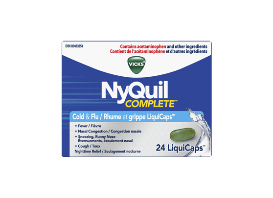 Vicks - NyQuil Complete LiquiCaps