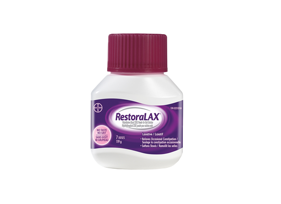 RestoraLAX Powder Laxative 7 Doses