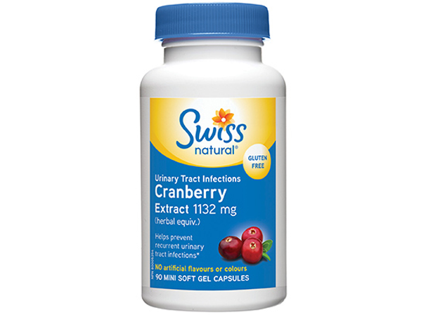 Swiss Natural Cranberry Extract 1132 mg