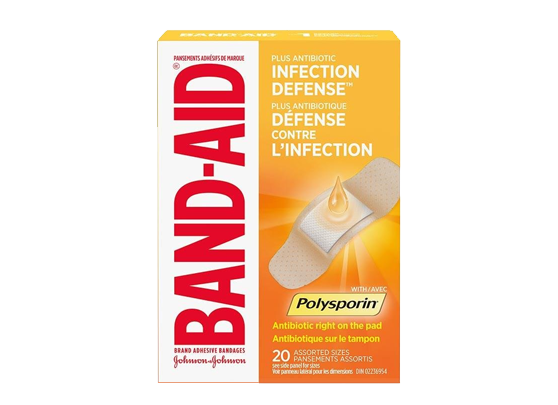Band-Aid Antibiotic 20 Assorted Sizes