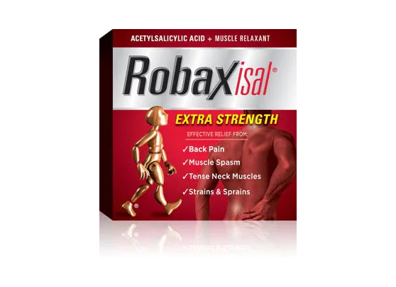 Robaxisal Extra Strength with Muscle Relaxant 18 Caplets
