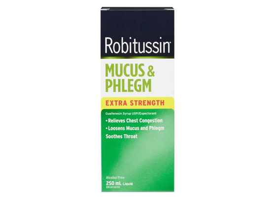 Robitussin Mucus & Phlegm Extra Strength 250ML