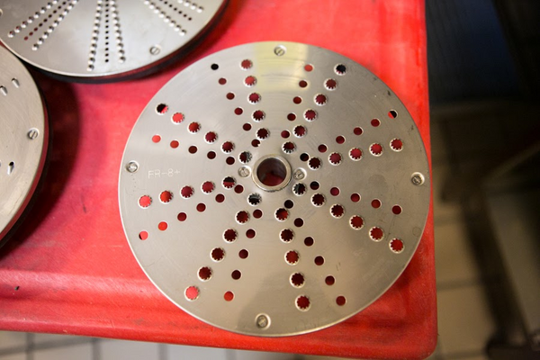 "Sammic SH-8 5/16"" 8mm Coarse Grating Disc Model FR-8+"