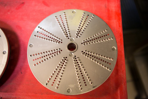 "Sammic SH-1 1/32"" 1mm Fine Grating Disc Model FR-1+"