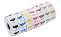 "Noble Products 1"" Removable Day of the Week Label Rolls"