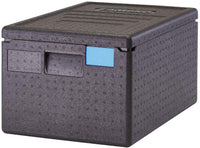 Black Cambro GoBox® Insulated Food Pan Carrier, 48.6 qt.
