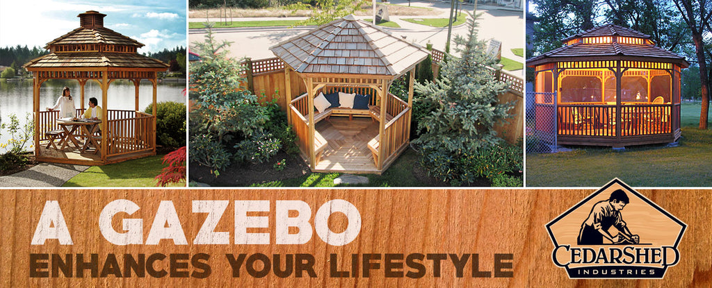 A Gazebo Enhances Your Lifestyle