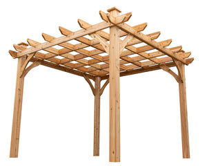 ten by ten pergola kit