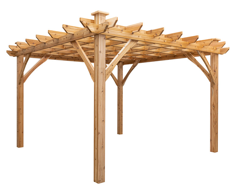 "Cedarshed ""The Shuswap"" 12x12 Pergola Kit"