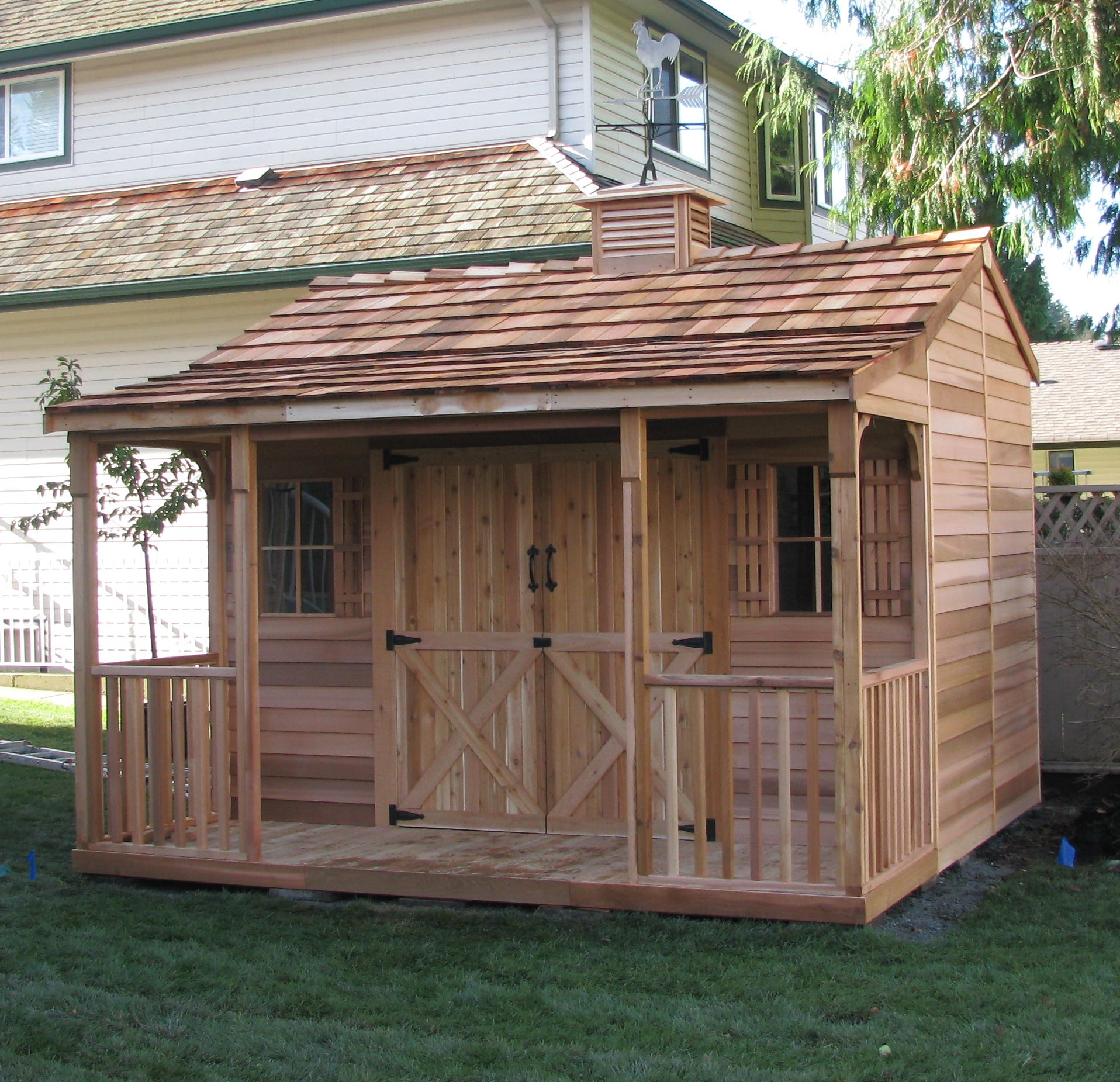 Ranchouse Backyard Sheds, Prefab Guest Cottage Kits For