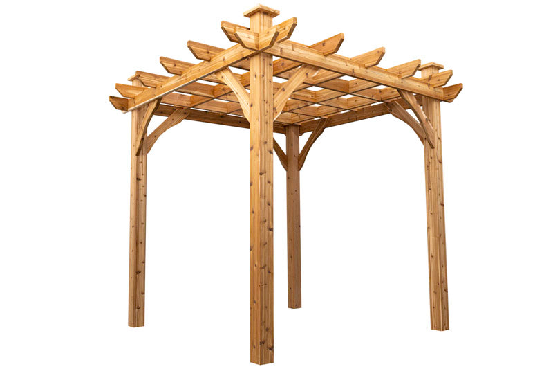 "Cedarshed ""The Mabel"" 8x8 Pergola Kit"