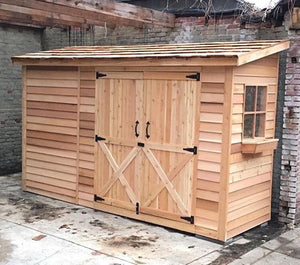Bayside Double Door Shed Kit