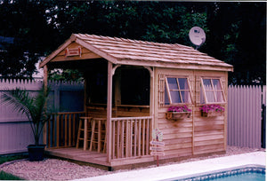clubhouse bar shed
