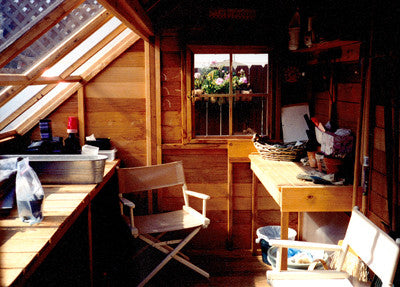 Inside a customer's Sunhouse studio