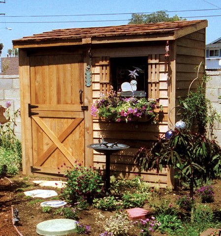 Yard Storage Sheds 8 X 4 Shed Diy Lean To Style Plans Amp Designs Cedarshed Usa