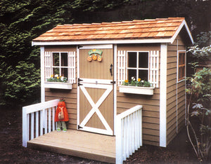 Cabana Kit painted exterior