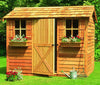 Cedarshed Cabana Kit with dutch door