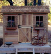 Rustic Style Cedarshed Cabana