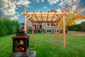 "Cedarshed ""The Kalamalka"" 10x10 Pergola Kit"