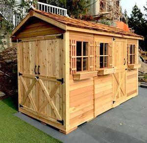 Cedar Boathouse Shed Kit