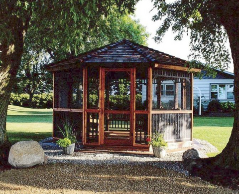 Cedarshed 14' Octagon Gazebo Kit