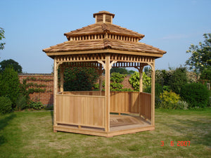 Hexagon Gazebo by Cedarshed