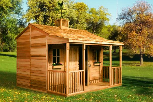 Ranchouse Backyard Sheds Prefab Guest Cottage Kits For