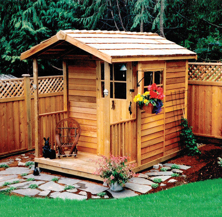 Potting shed potting house garden potting shed wood designs plans cedarshed usa - Garden sheds oregon ...