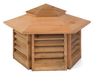 Cedarshed Hexagon Cupola