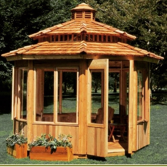 All Season Gazebo Kits Enclosed Gazebos Contemporary