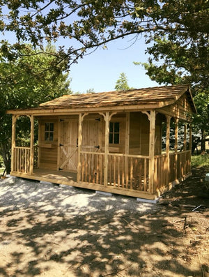 Farmhouse Shed Kits for Sale