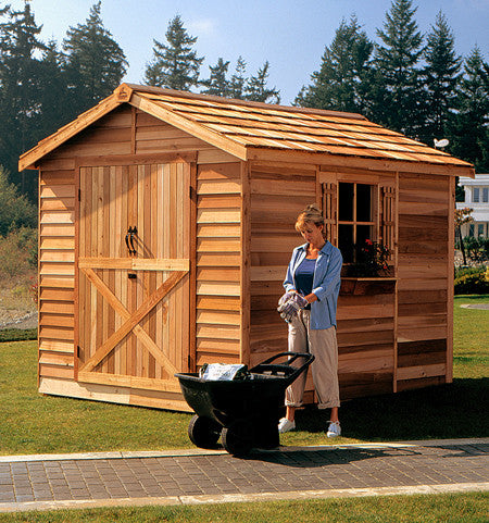 Large Wooden Sheds Lawn Mower Amp Motorcycle Storage Shed